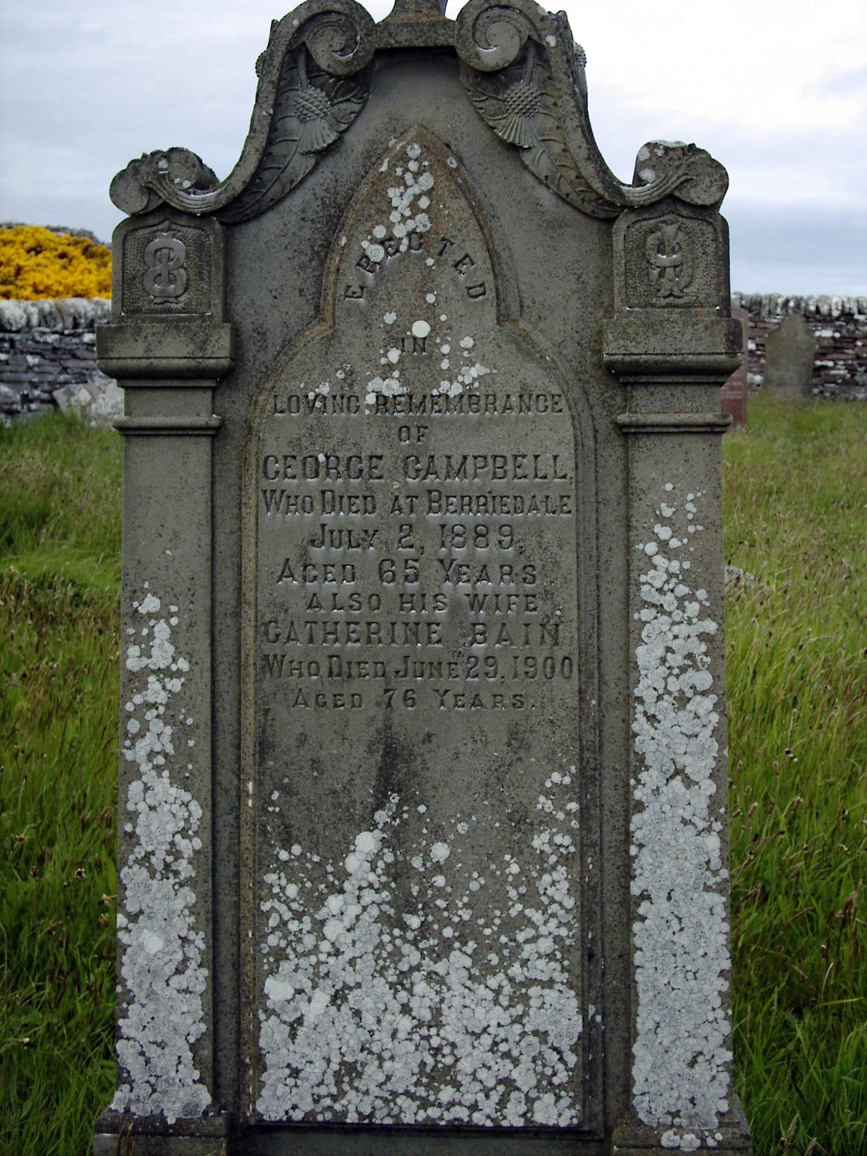 Berriedale Old Cemetery